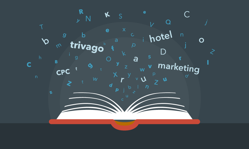 trivago hotel marketing words are popping out of a glossary