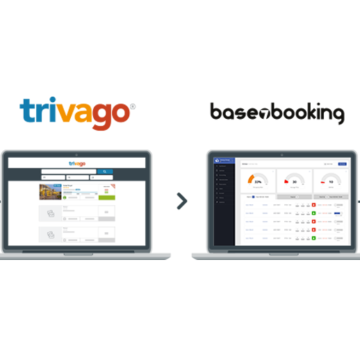 trivago and Base7booking logos