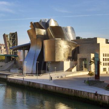 Guggenheim por la tarde