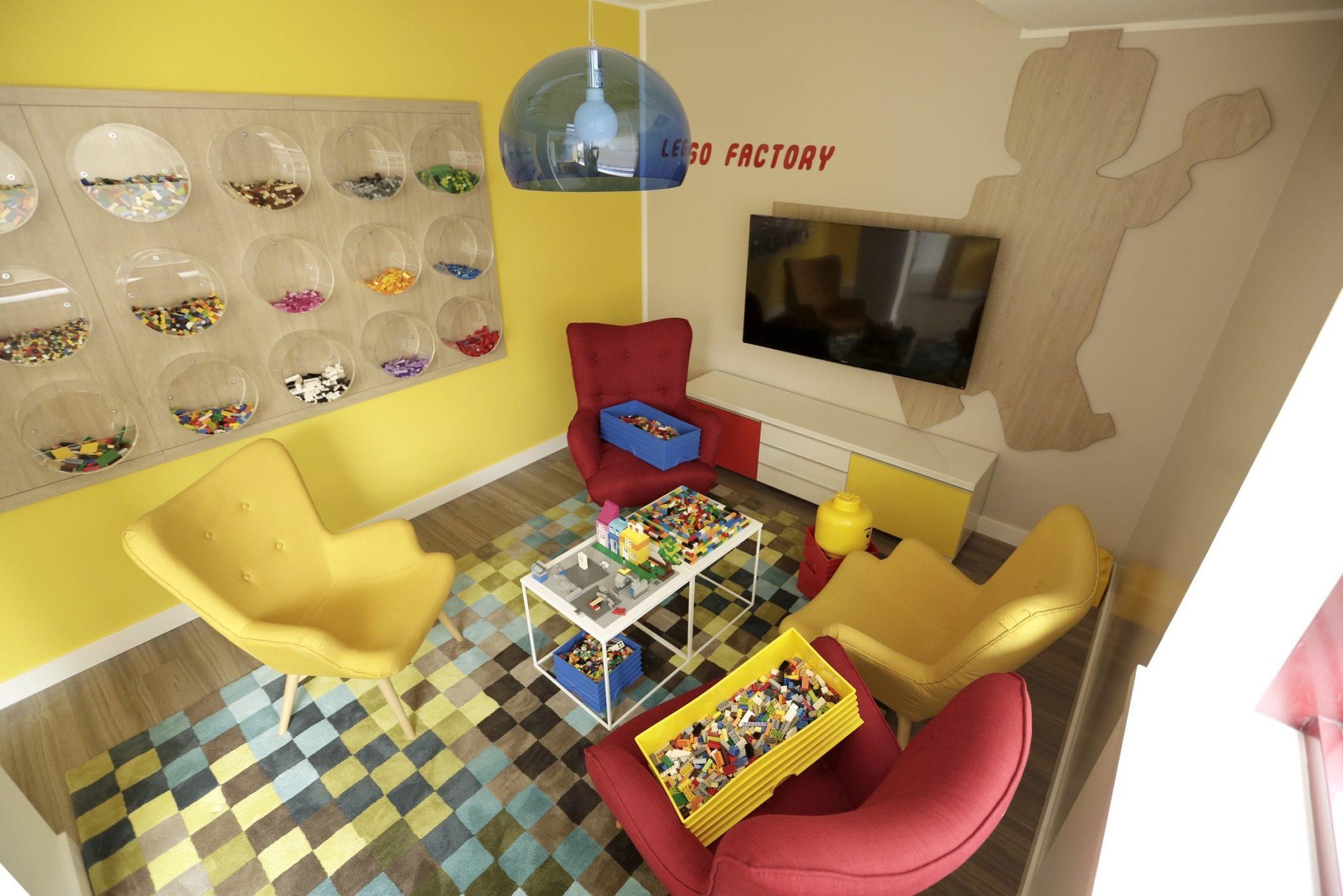Sala lego en las oficinas de trivago