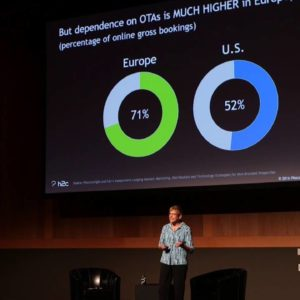 Uno speaker a Phocuswright Europe