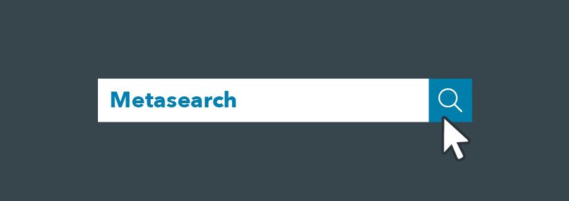 une barre de recherche avec metasearch marketing dans la section recherche