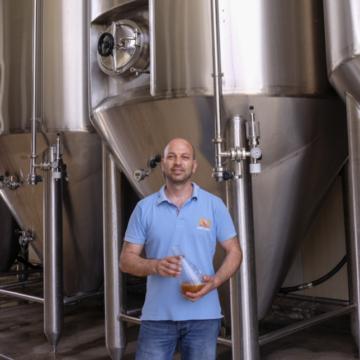 Selección de cervezas de Corfu Beer