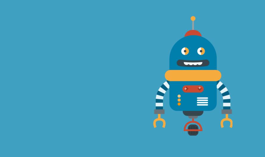 a cartoon robot representing trivago's big data