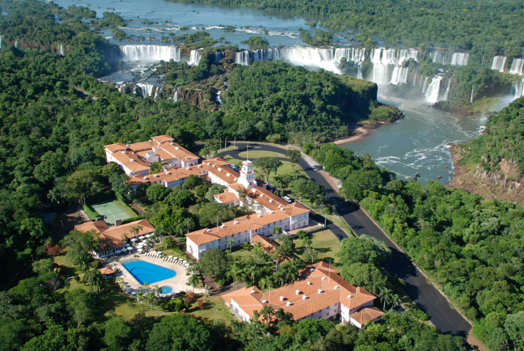 Vista aérea do Belmond Hotel das Cataratas