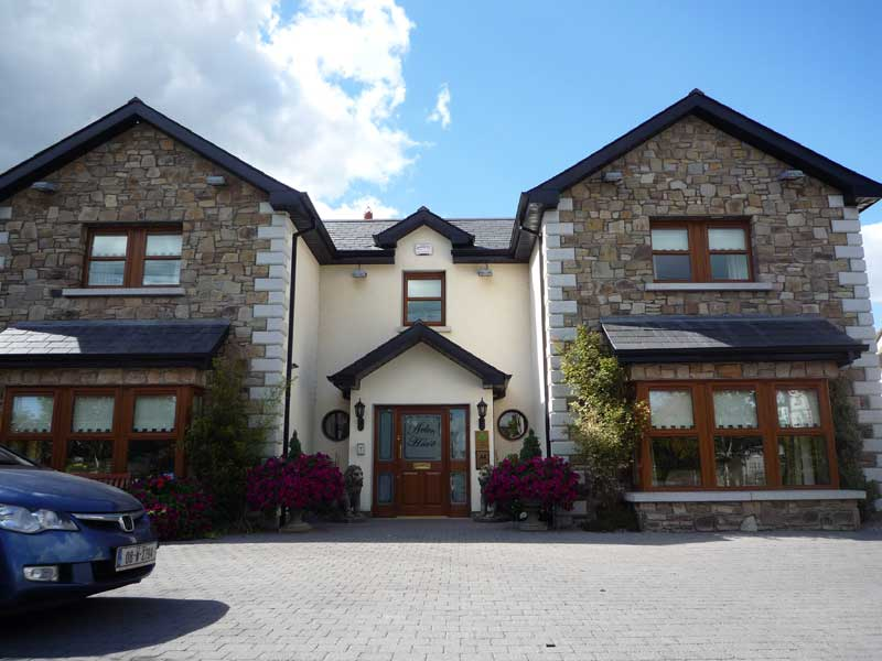Stone exterior of Avlon hotel in Carlow, Ireland