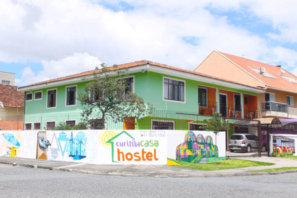imagem externa do Curitiba Casa Hostel