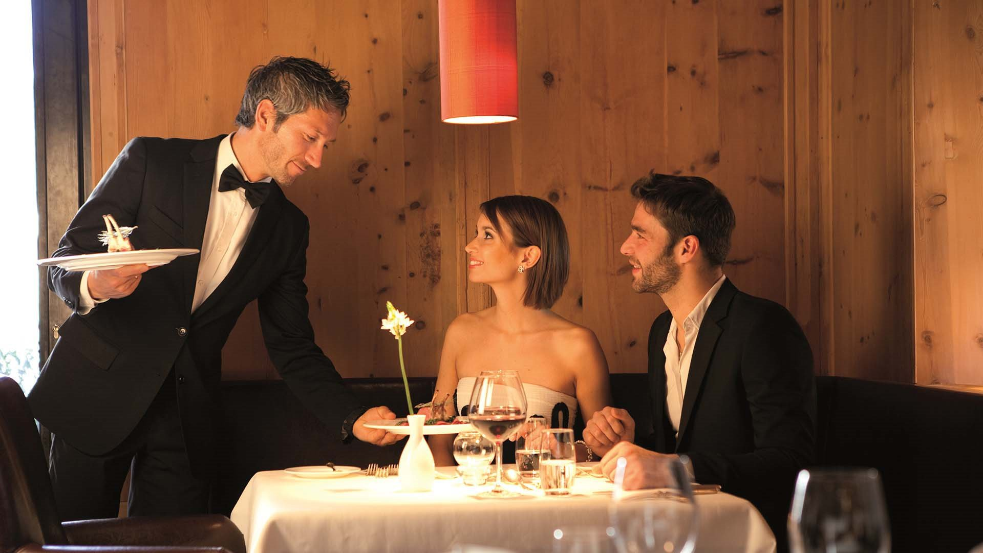 Il ristorante gourmet dell'Adler Dolomiti