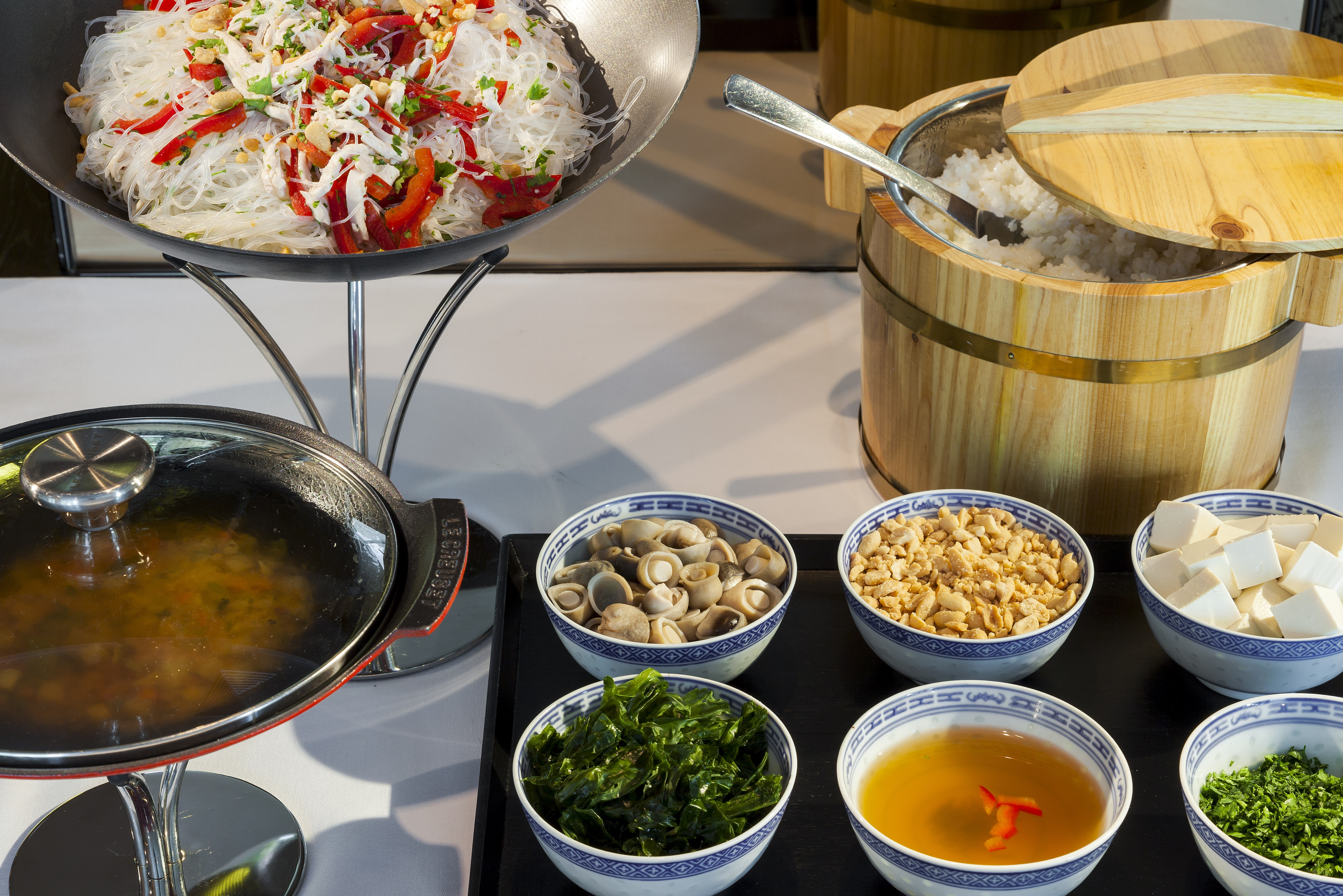 Spécialité asiatique du restaurant