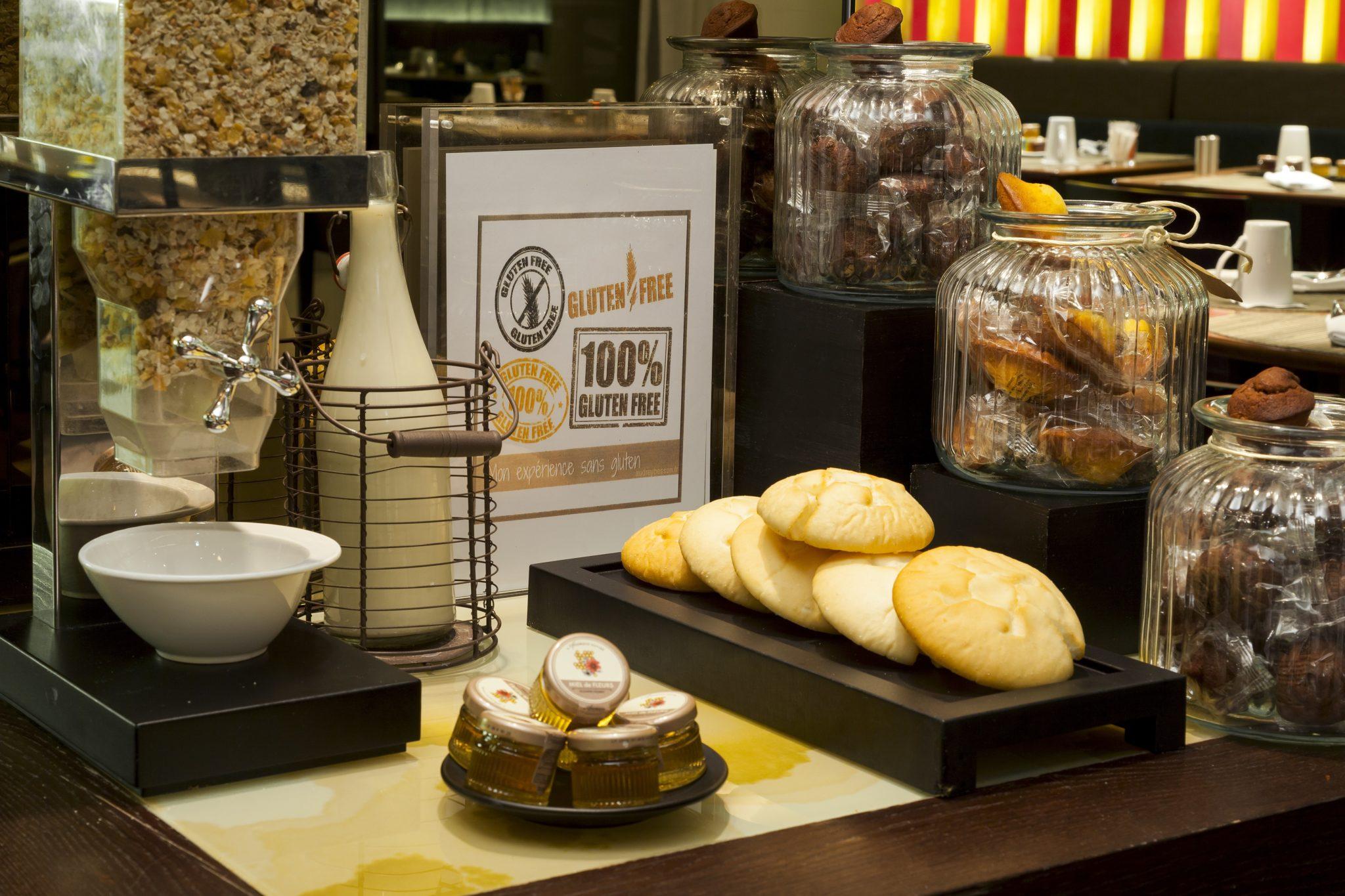 Le pullman Paris Bercy Centre propose des produits frais et gluten free au petit-déjeuner