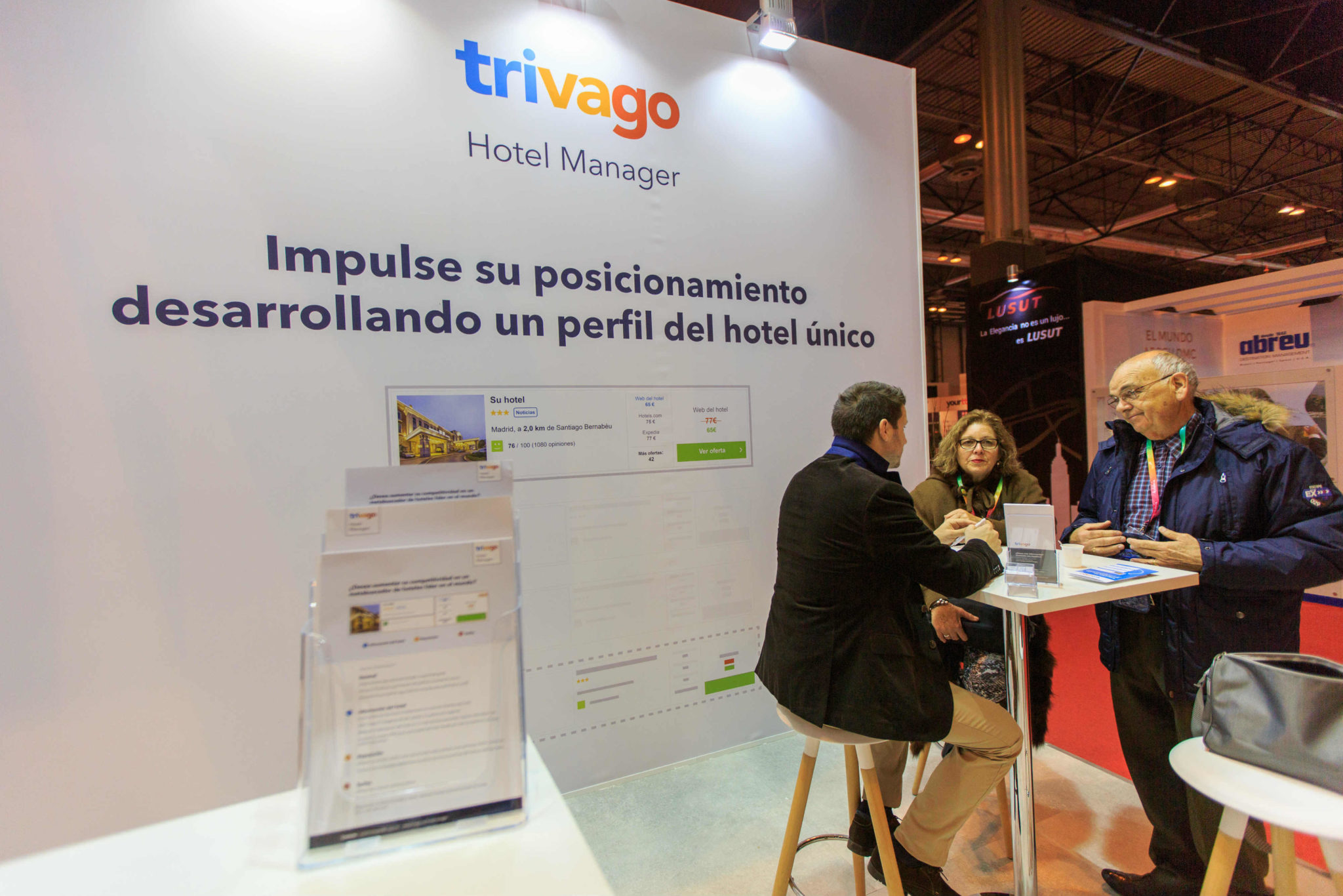 stand de trivago Hotel Manager