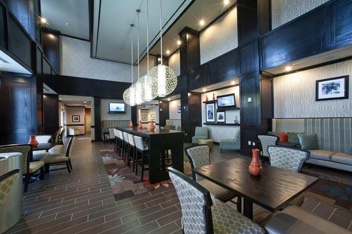 A modern American hotel interior