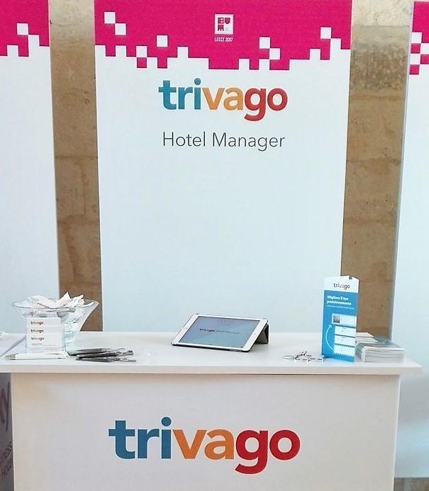 Lo stand di trivago a BTM Puglia 2017