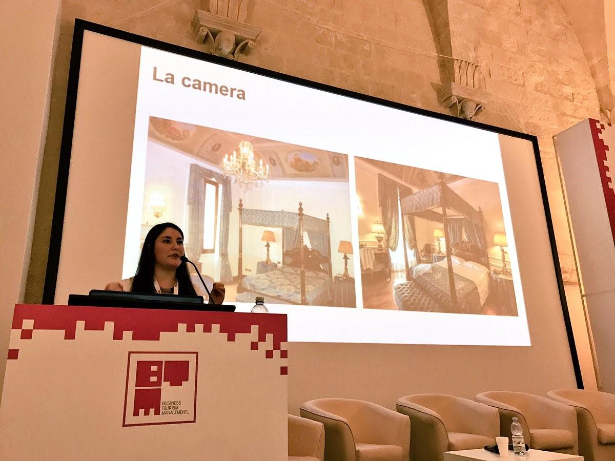 Isabella Scaccia presenta il Case Study sulle foto a BTM Puglia 2017