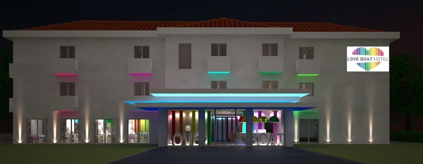 Rebranding del Love Boat hotel di Rimini