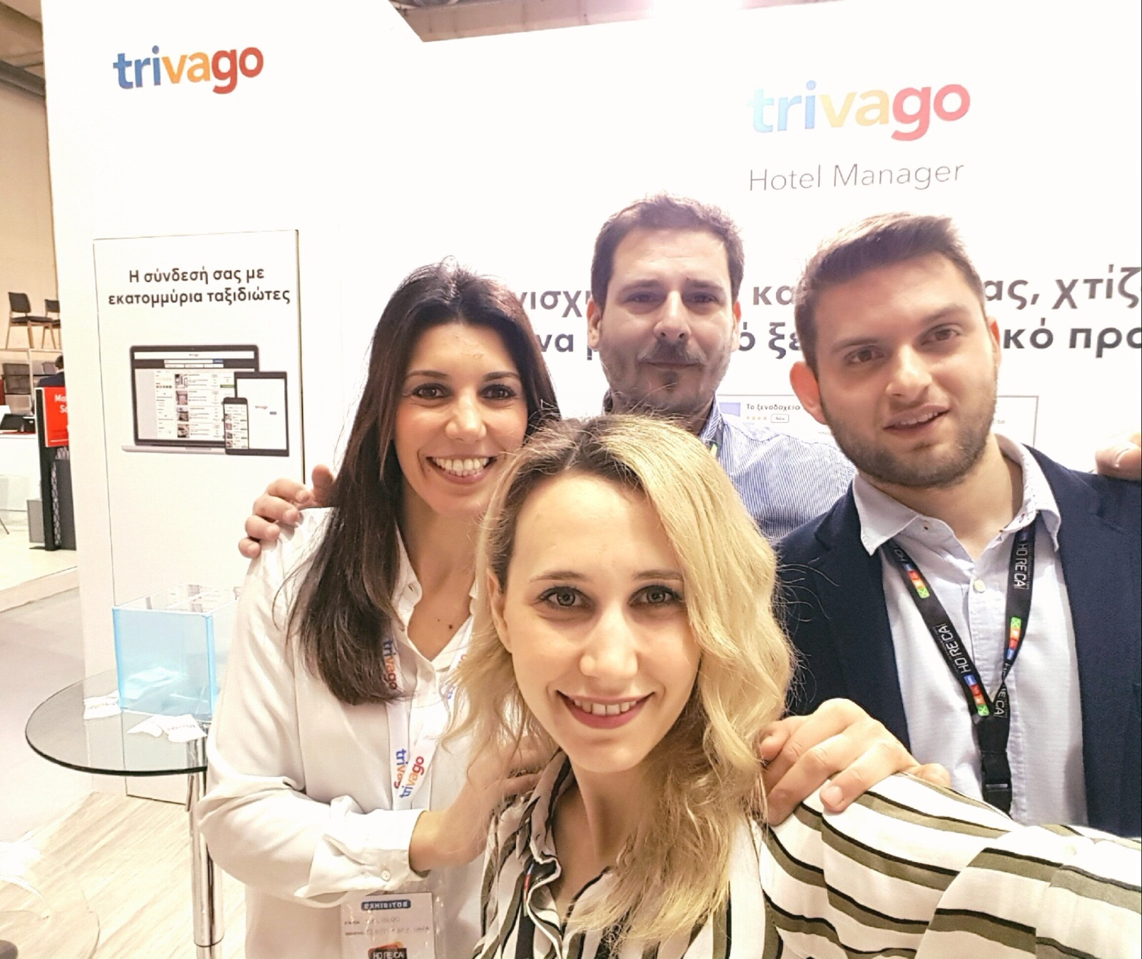 Η ομάδα της trivago στη HORECA