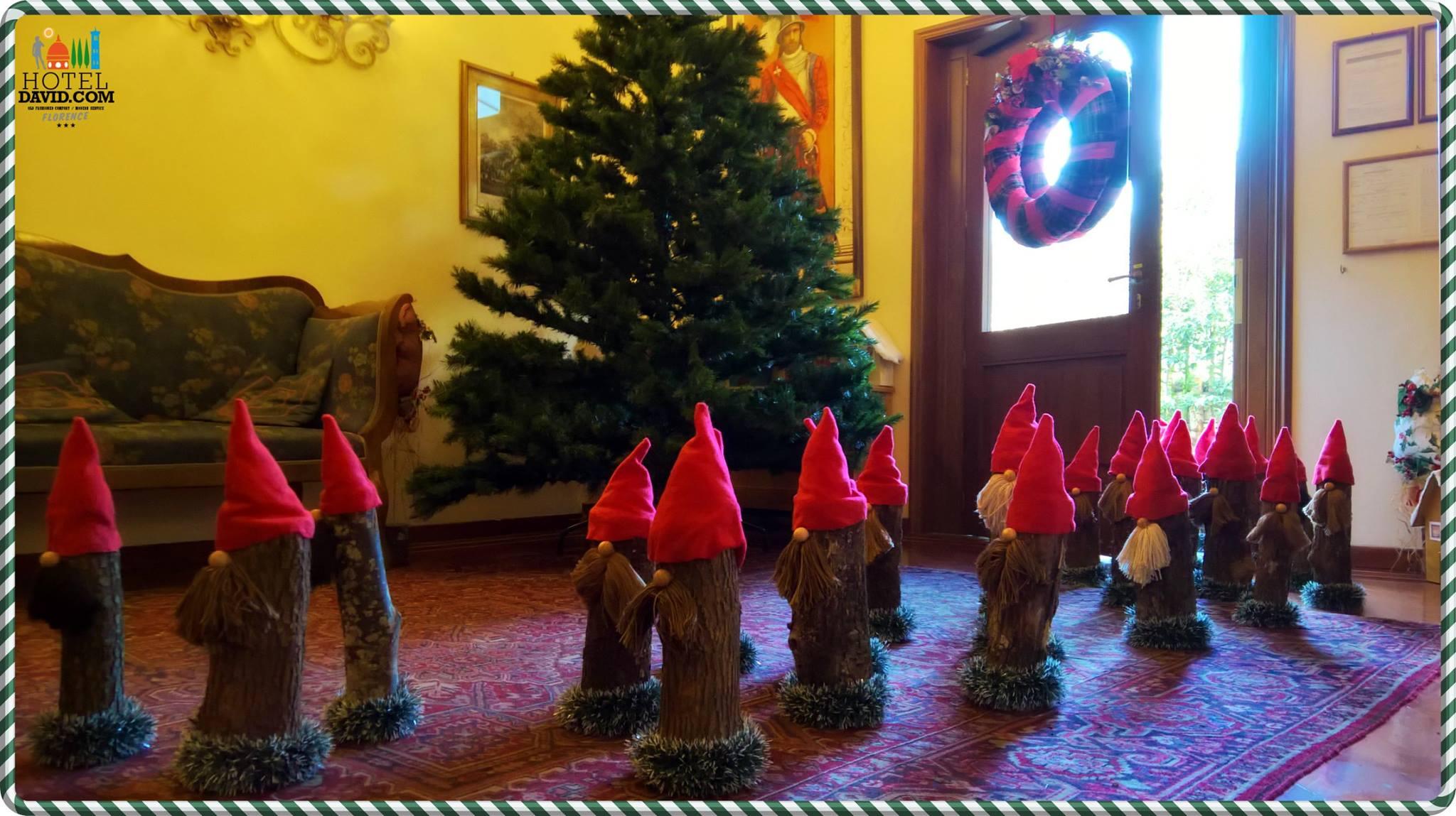 Natale nell'hotel David di Firenze