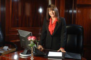 Olga Petroni, Directora Hotel Alvear Palace