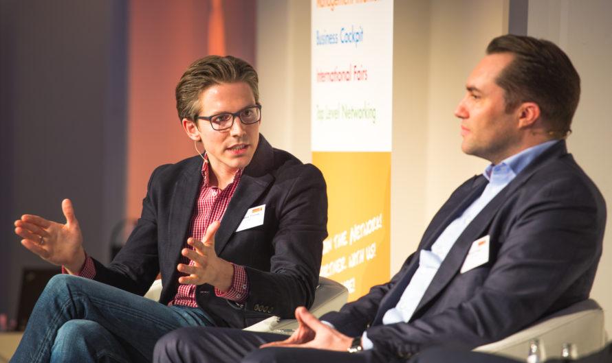 Johannes Thomas y Tobias Ragge en la ITB Berlín