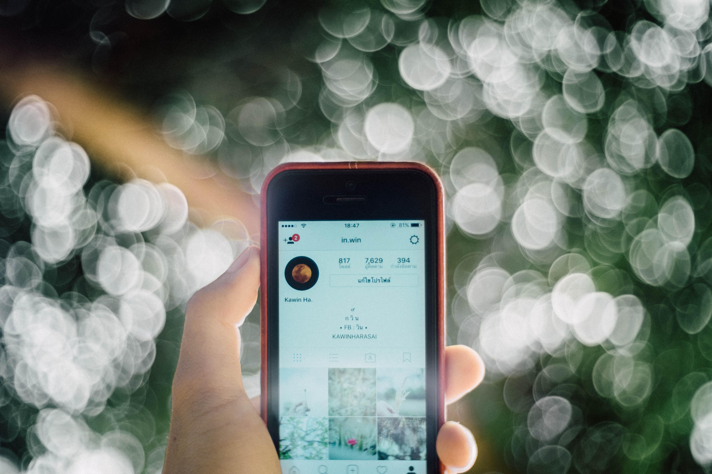 layout de uma história do Instagram, como tática de marketing para hotéis