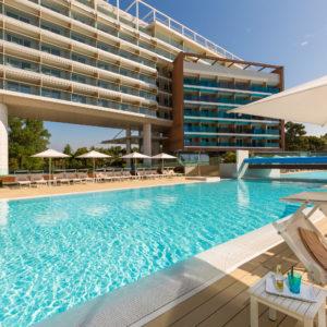 Piscina dell'Almar Resort & Spa di Jesolo