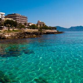 Agua cristalina de Mallorca