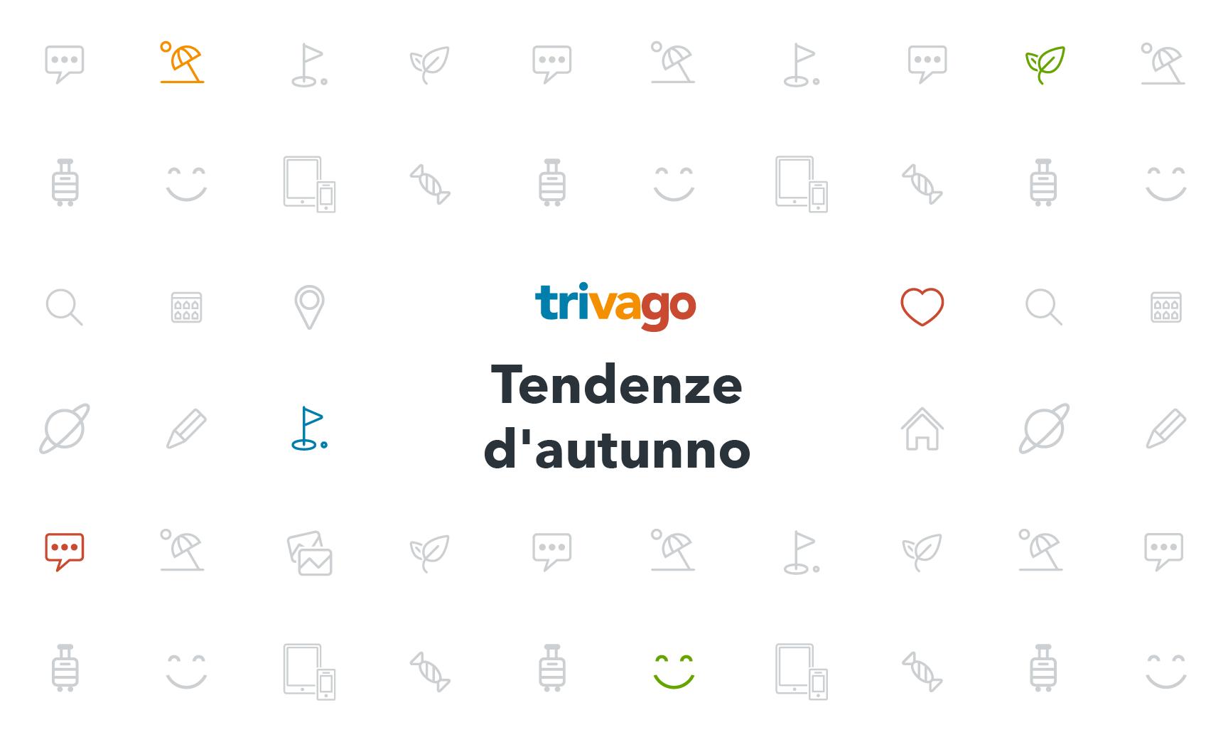 Autunno 2017 tendenze dei viaggi e vacanze in italia for Vacanze a novembre in italia
