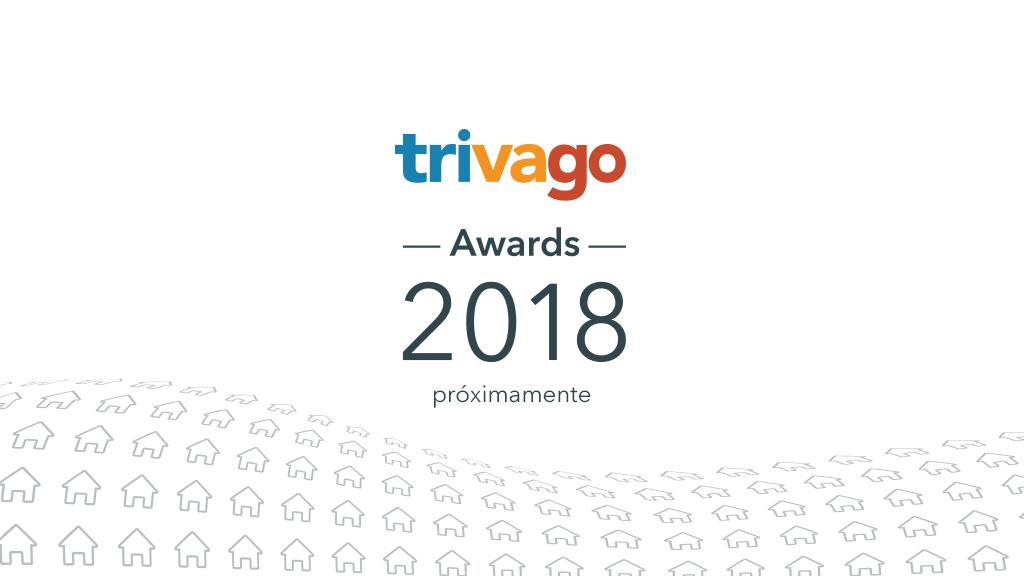 Logotipo de los trivago Awards 2018 con el texto «Próximamente»