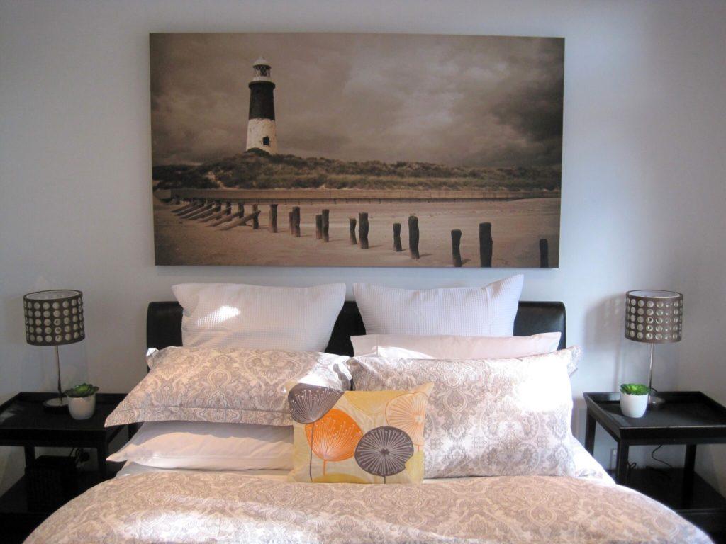 Hotel room of Acorns Wellington in New Zealand