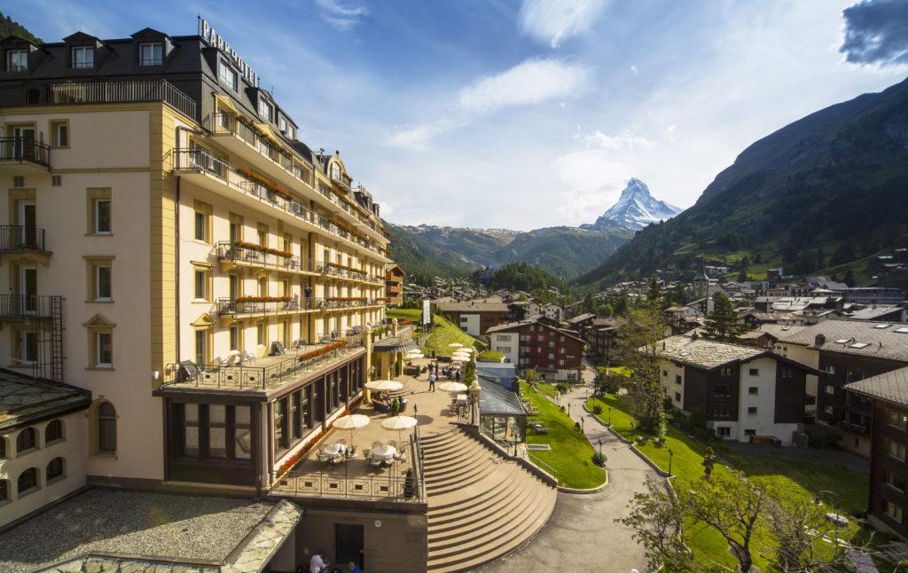 Gewinnerhotel 4-Sterne Schweiz: Parkhotel Beau Site Zermatt