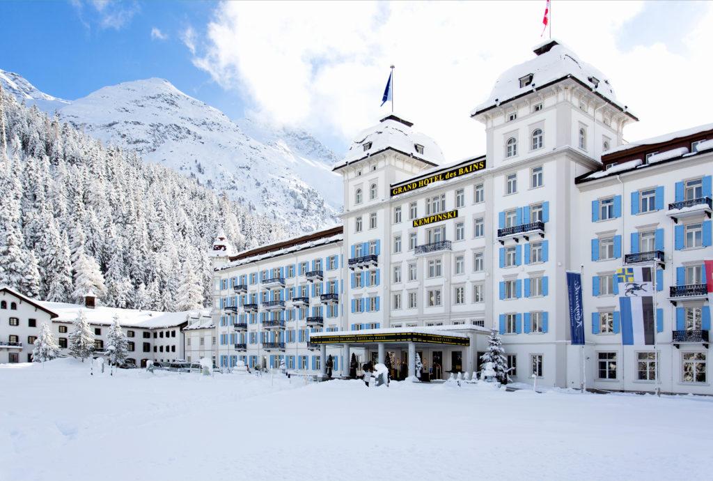 Kempinski Grand Hotel des Bains Gewinner Hotelkette trivago Awards 2018 Schweiz