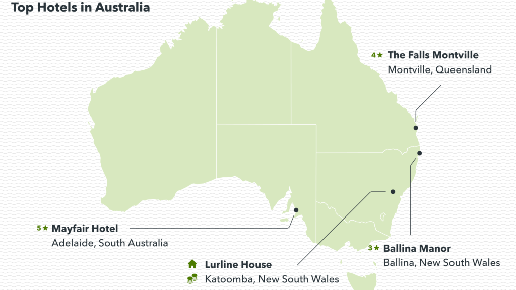 Image showing the top-rated hotels in Australia