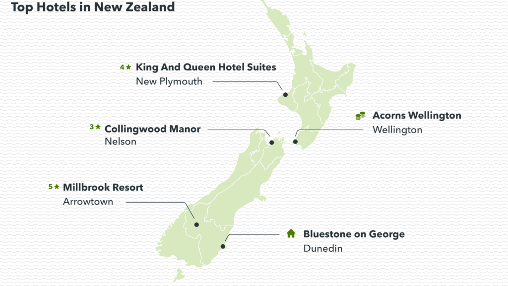 image showing top-rated hotels in New Zealand