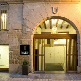 Fachada del hotel Calle Mayor en Logroño